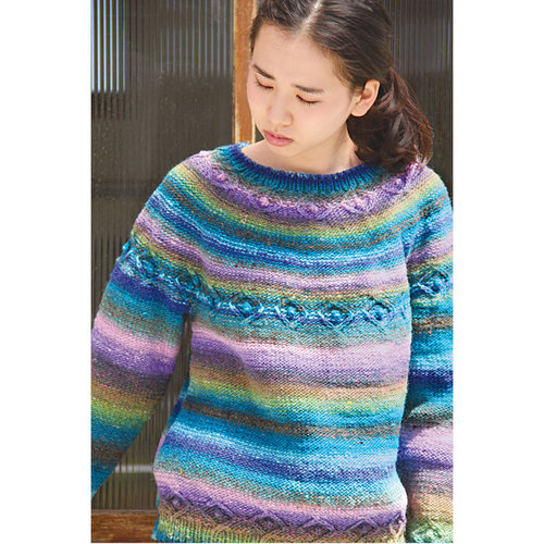 Noro 1324 Cable Yoked Pullover PDF -  ()