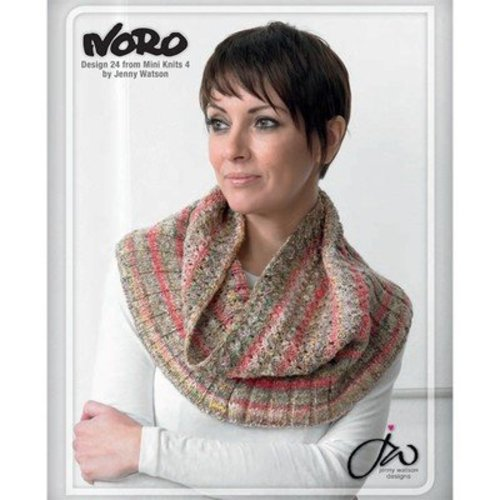 Noro 24 Neck Wrap / Snood PDF - Designer Mini Knits 4 -  ()