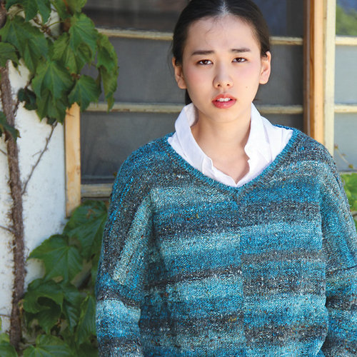 Noro 1325 Textured Pullover PDF -  ()