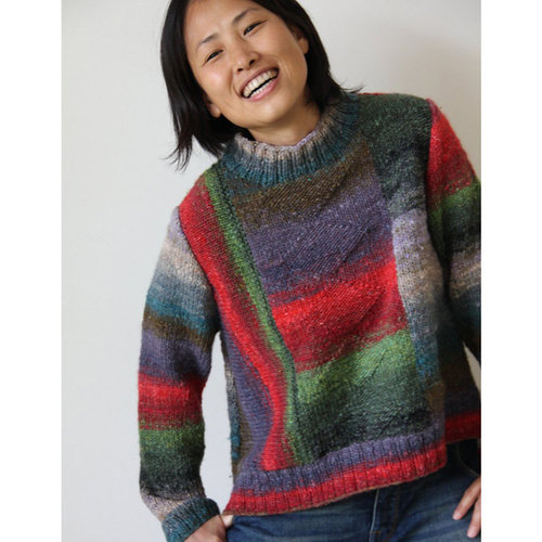 """Noro 1729 High-Low Pullover Kit - 39½"""" (01)"""