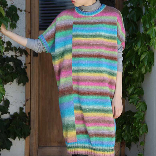 Noro 1335 Long Sweater and Cowl PDF -  ()