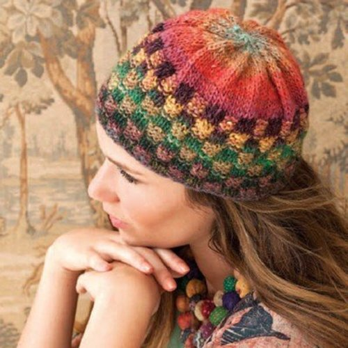 Noro Checkerboard Cap PDF -  ()