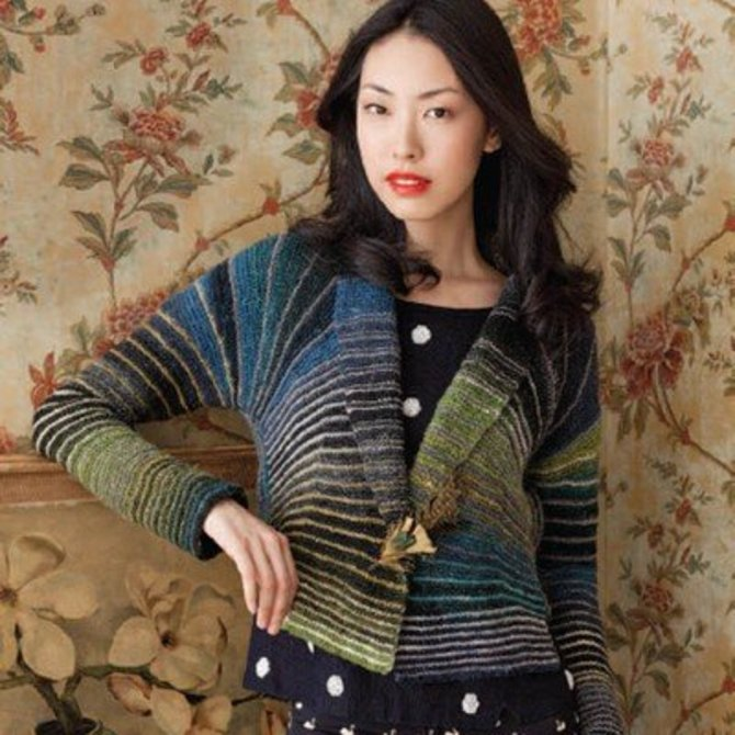 Noro Cropped Jacket Pdf At Webs Yarn