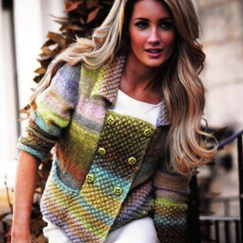 Noro Double Breasted Jacket PDF -  ()