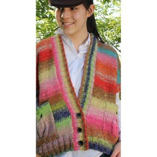 Noro Dropped-Shoulder Cardi (Akita) PDF -  ()