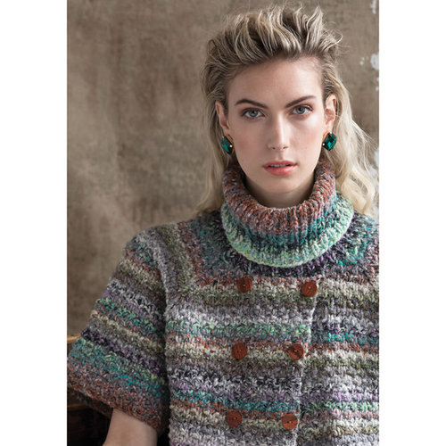 Noro Faux Double-Breasted Cardi PDF -  ()