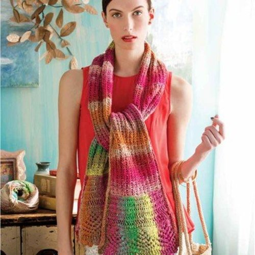 Noro Fluted Scarf PDF -  ()