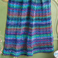 Noro Garter and Rib Blanket Kit - With Book (01)