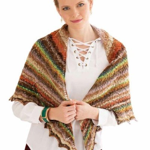 Noro Hybrid Triangular Shawl PDF -  ()