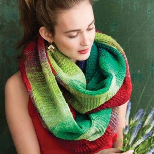 Noro Infinity Scarf PDF -  ()