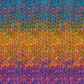 Noro Kagayaki - Orange, Turquoise, Forest (020)