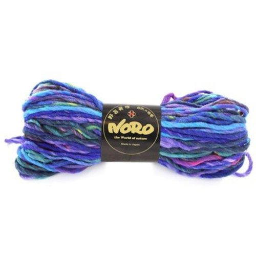 Noro Kureyon AIR - Aqua, Purple Multi (040)