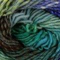 Noro Kureyon - Aqua, Lime, Royal, Brown (344)