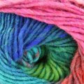 Noro Kureyon - Green, Red, Blue (362)