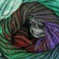 Noro Kureyon - Sycamore (emerald, Red, Purple, For (377)