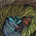 Noro Kureyon - Iris Agate (deep Blue, Brown, Lime, (393)