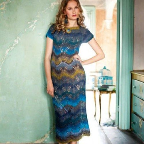 Noro Lace Maxi Dress PDF -  ()