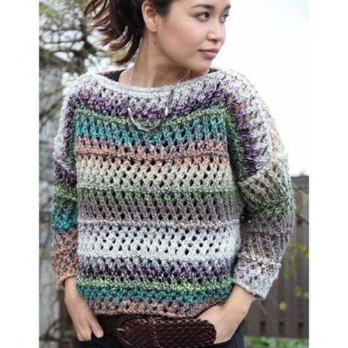 Noro Lace Sweater (Hanami 3) PDF -  ()