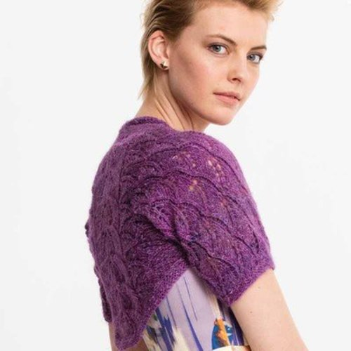 Noro Leaf Lace Shrug PDF -  ()
