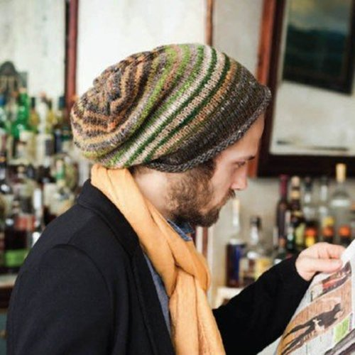 Noro Man's Slouchy Hat PDF -  ()