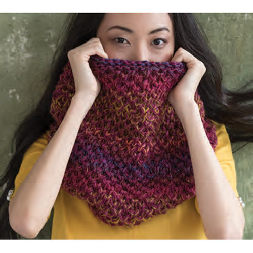 Noro Marled Cowl Kit - Model (01)
