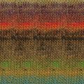 Noro Mirai - Old Gold, Red, Turquoise (003)