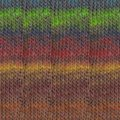 Noro Mirai - Browns, Turquoise, Lime (008)