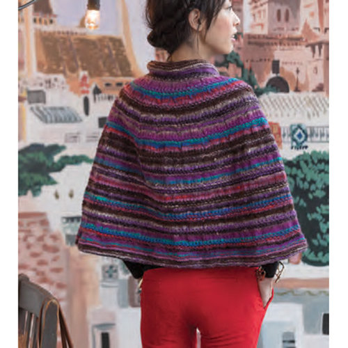 Noro One Button Capelet Kit - Small (01)