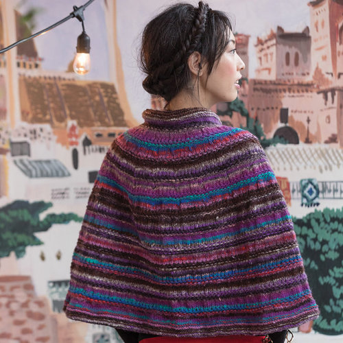 Noro One Button Capelet PDF -  ()