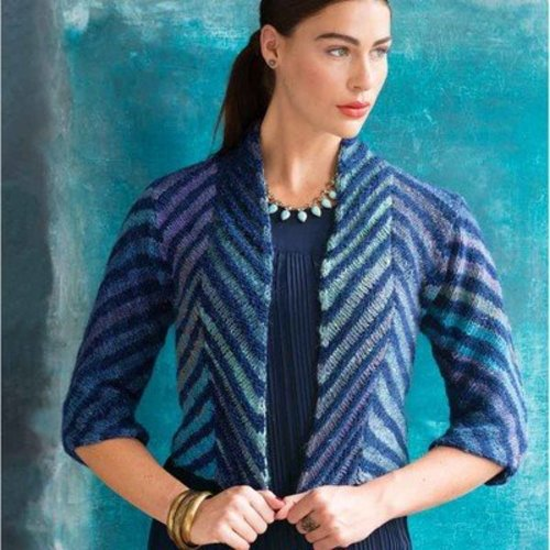 Noro Open Front Jacket PDF -  ()