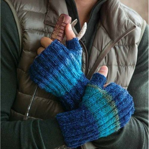 Noro Ribbed Mitts PDF -  ()