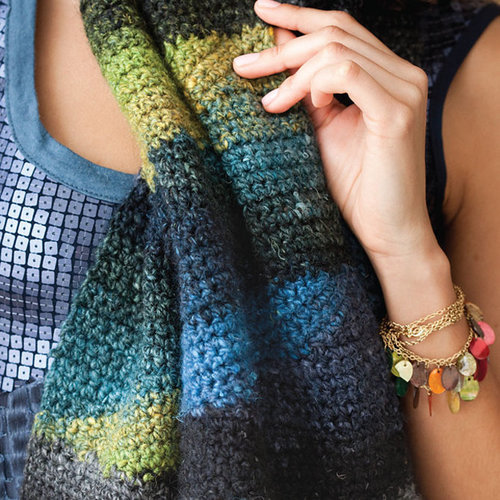 Noro Short Row Scarf PDF -  ()