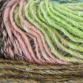 Noro Silk Garden Lite - Green, Black, Pink, Brown (2105)