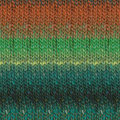 Noro Silk Garden Lite - Teal, Orange, Violet (2154)