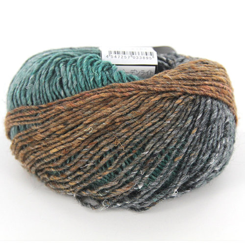 Noro Silk Garden Lite - Teal, Orange, Violet (2162)