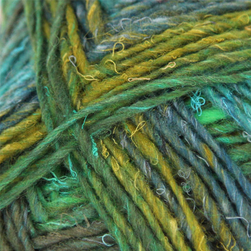 Noro Silk Garden Sock Discontinued Colors - Greens, Coral, Ink (S426)