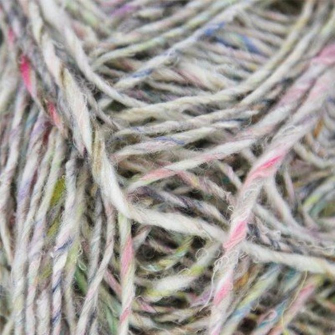 Noro Silk Garden Sock Solo - Natural-soft Brown With Pastels (001)
