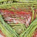 Noro Silk Garden Sock - Olive, Red, Purple (S424)