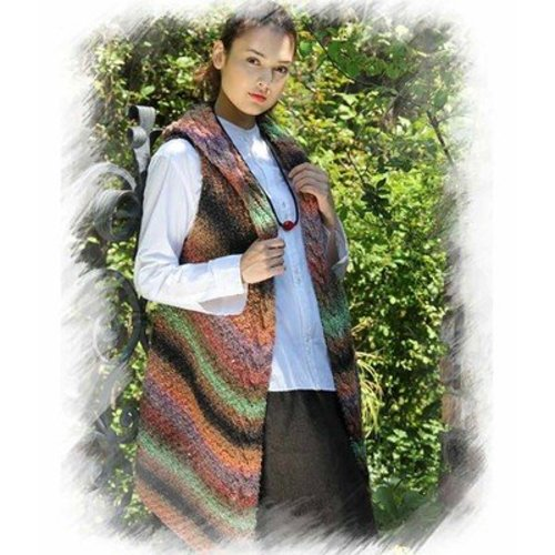 Noro Sleeveless Jacket Two (Akita 2) PDF -  ()