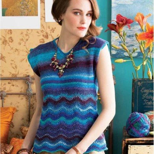 Noro Sleeveless Top PDF -  ()