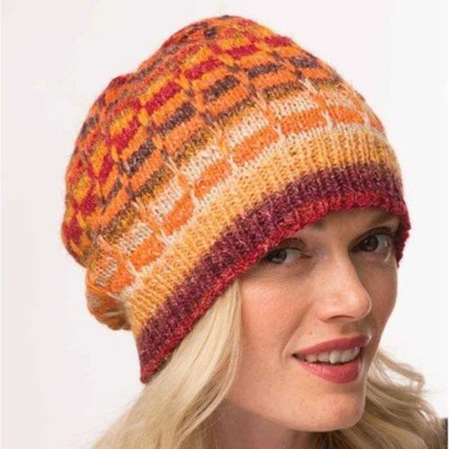 Noro Slipped Stitch Hat PDF -  ()