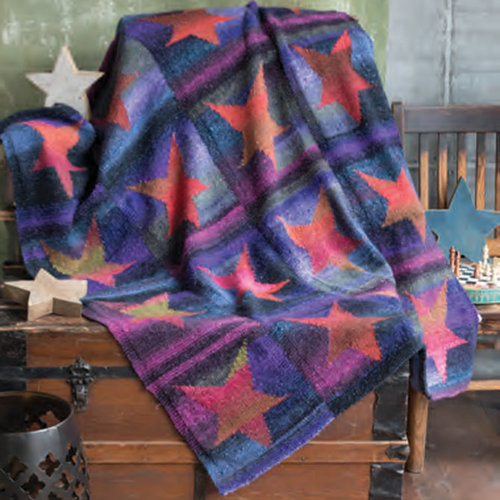 Noro Star Blanket Kit - Model (01)