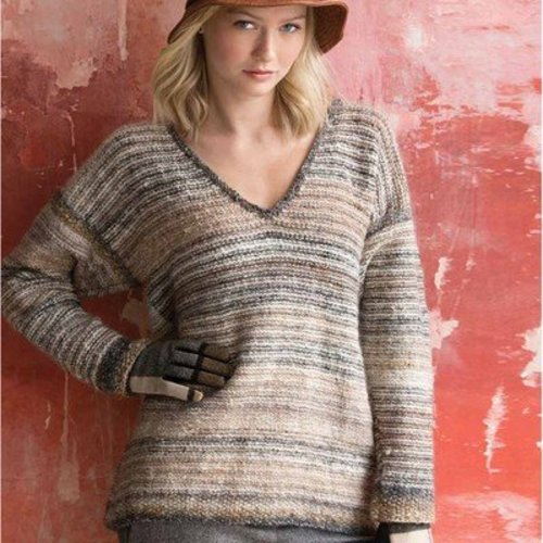 Noro Striped Pullover PDF -  ()