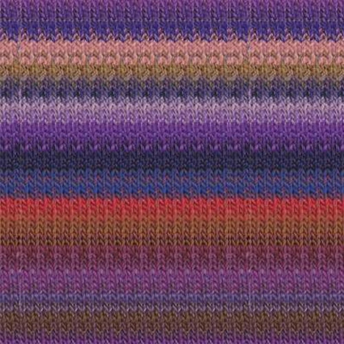 Noro Taiyo Discontinued Colors - Purples, Peach, Red, Blue (73)