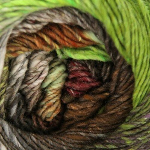 Noro Taiyo Sport - Browns, Lime, Gray (13)