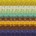 Noro Taiyo - Brown, Yellow, Mint, Purple (59)