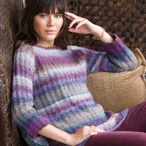 "Noro Textured Rib Raglan Kit - 35"" (01)"