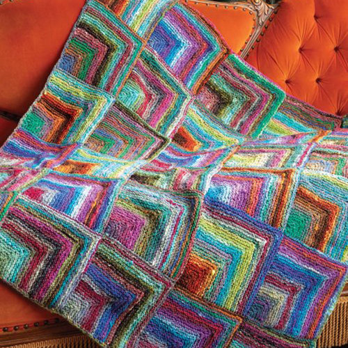 Noro To the Point Blanket Kit - With Book (1)