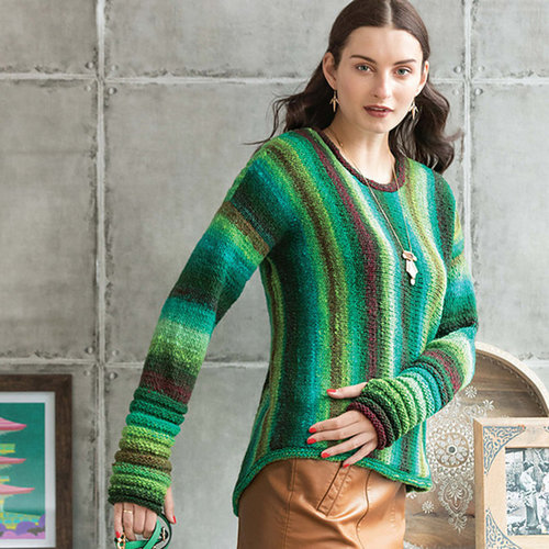 "Noro Tokyo Pullover Kit - With Book - 44"" (01)"