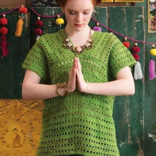 Noro V-Neck Shell PDF -  ()